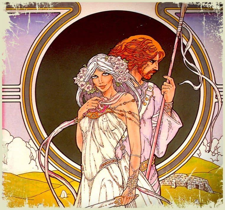Алжирский узел любви в древности, фото влюбленных.