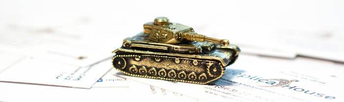 Бронзовые модели танков World Of Tanks