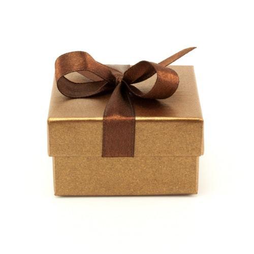 Подарочная упаковка Футляр картонный с лентой Шоколад 60х60х34 мм RH_90030-2-min.jpg