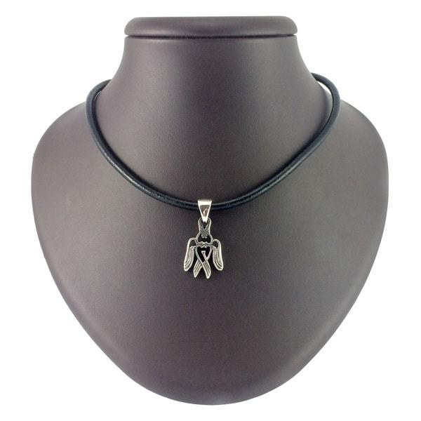 Кулоны из серебра Сокол Рарог кулон Krilya-rarog-v-serebre-2.jpg