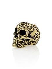 Шарм подвеска череп Polynesian Tribal skull