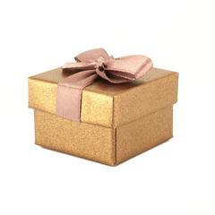 Футляр картонный с лентой Шоколад