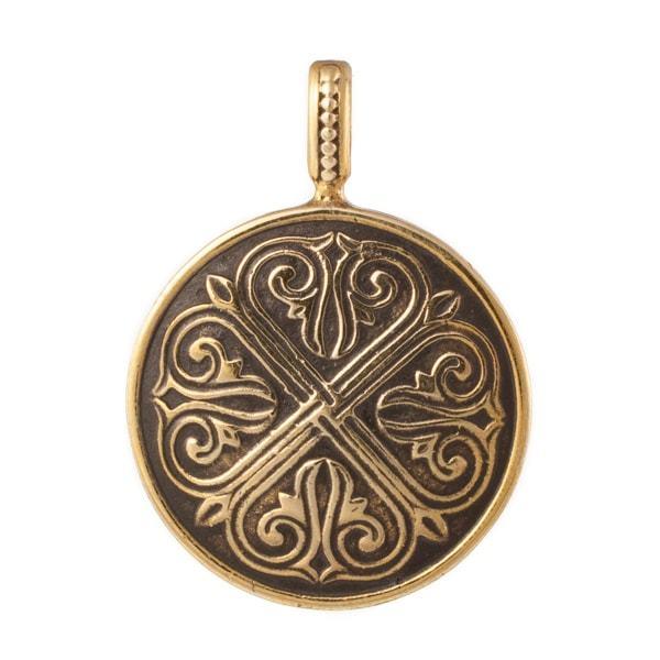 Древний мир Византийский медальон Лилии RH_01462-2-min.jpg