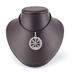 Вегвизир  кулон из серебра