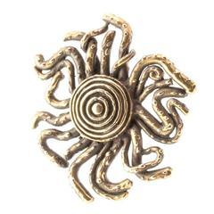 Осьминог солнечного залива кулон