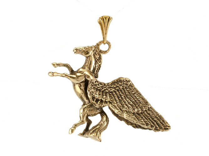 Сувениры Лошадь с крыльями подвеска RH-675.jpg