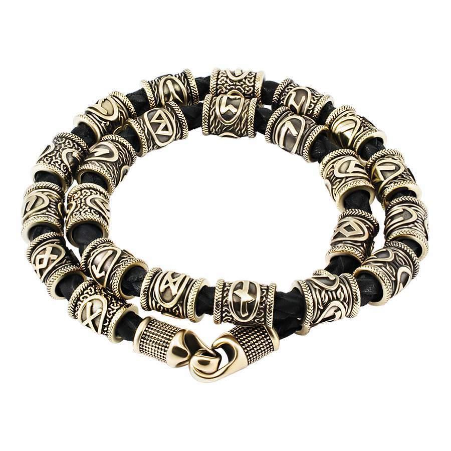 Рунические браслеты Браслет с рунами cтаршего футарка из серебра braslet-s-runami-na-belom-fone.jpg