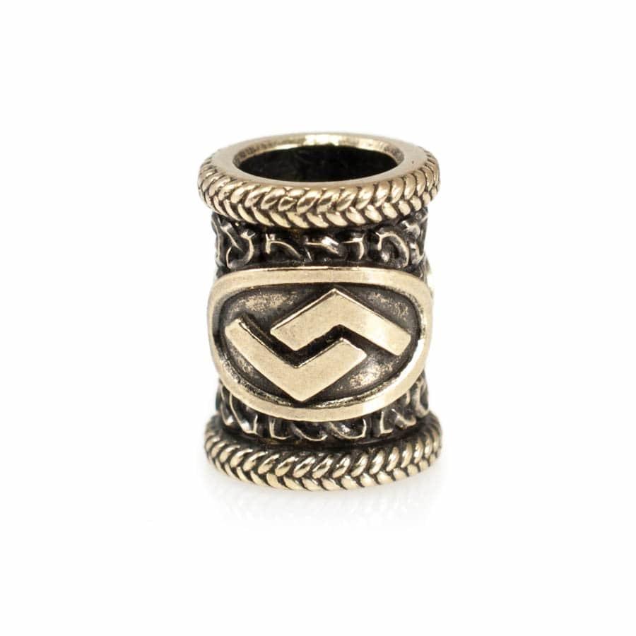 Шармы для браслетов Руна Йера подвеска sharm-runa-jera-iz-bronzy.jpg