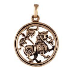 Лев Владимирский медальон кулон
