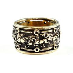 Вольные мустанги кольцо